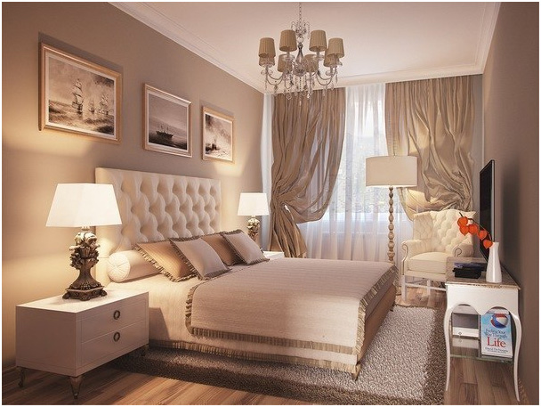 Фото дизайна спальни 12 м2